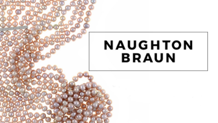 Naughton Braun Luxury PEARL Jewelry: PEARL Necklaces, PEARL Bracelets & PEARL Earrings
