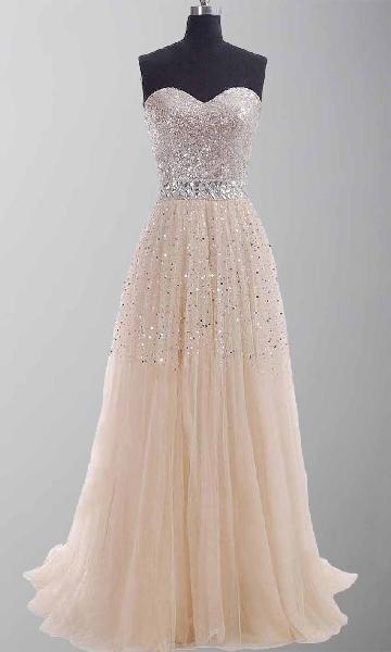 sparkle glitter prom dresses