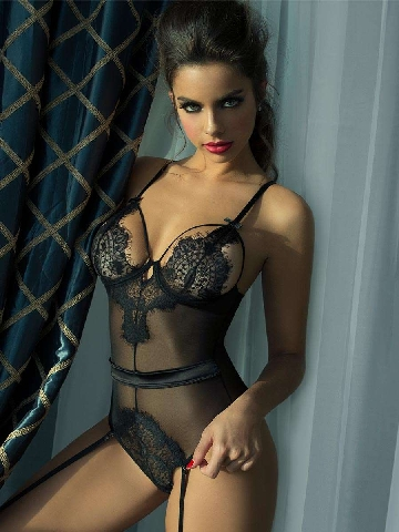 Sexy Lace Lingerie Teddy