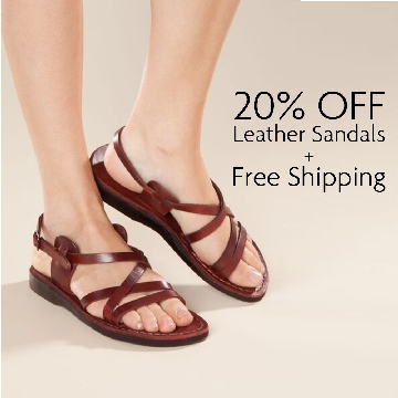 LEATHER SANDALS WOMEN