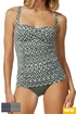 Moontide Sonar F-G Cup Tankini Set in Navy