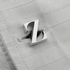 Square fern cufflinks
