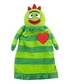 YO GABBA GABBA BROBEE LOVIE SECURITY BLANKET by KOMET CREATIONS