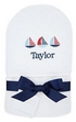 Personalized Little Sailor Hooded Towel