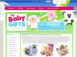http://www.mybabygifts.com.au website