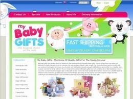 http://www.mybabygifts.com.au website