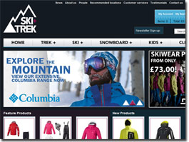 http://www.ski-trek.co.uk website