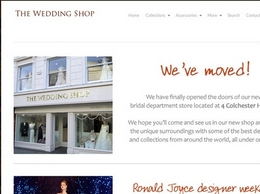 https://theweddingshop.uk/ website