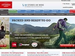 https://www.cotswoldoutdoor.com website
