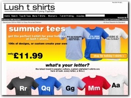 http://www.lushtshirts.co.uk website
