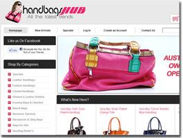 http://www.handbagshub.com.au website