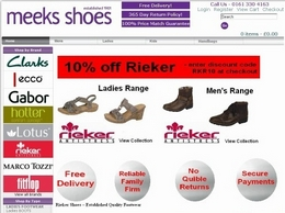 https://www.meeksshoes.co.uk/ website