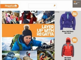 https://www.regatta.com/ website