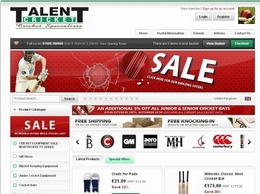 http://www.talentcricket.co.uk website