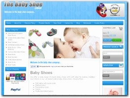 http://www.thebabyshoecompany.co.uk website