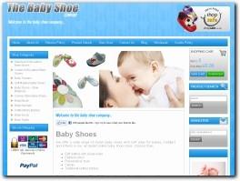 http://www.thebabyshoecompany.co.uk website
