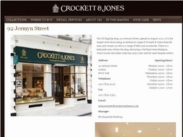 https://www.crockettandjones.com/ website