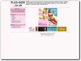 http://www.plus-size.co.uk website