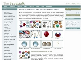 http://www.thebeadstalk.co.uk website