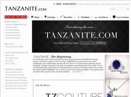 https://www.tanzanite.com/ website