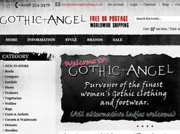 https://www.gothicangelclothing.co.uk/ website