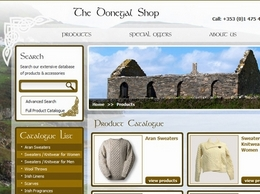 https://www.thedonegalshop.com website