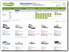 https://www.golfshoesonly.com/ website
