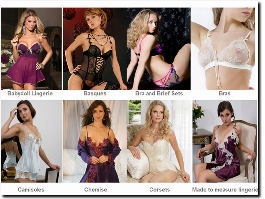 http://www.honeybeelingerie.co.uk website