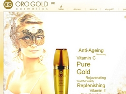 https://www.orogoldcosmetics.co.uk/ website