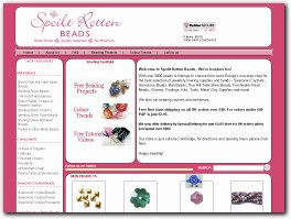 https://www.spoiltrottenbeads.co.uk/ website