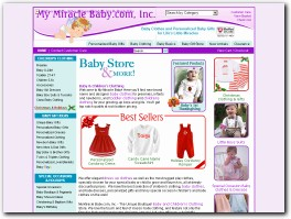 http://www.mymiraclebaby.com/ website