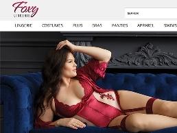 https://www.foxylingerie.com/ website