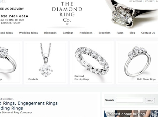 https://www.thediamondringcompany.co.uk/ website