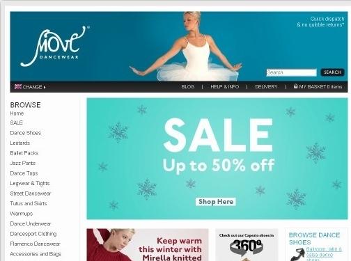 https://www.movedancewear.com/ website