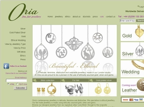 http://www.oriajewellery.co.uk website
