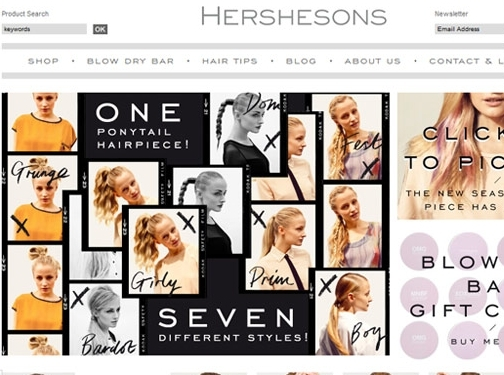https://www.hershesons.com/ website