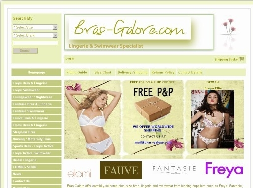 https://www.bras-galore.com/ website