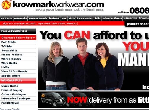 https://www.krowmark.com/ website