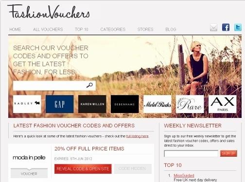 http://www.fashionvouchers.com website