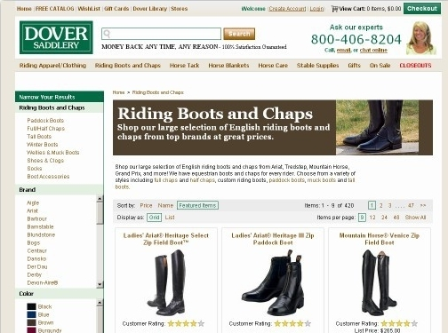 https://www.doversaddlery.com/riding-boots-chaps/c/2000/ website