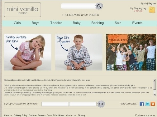 https://www.minivanilla.com/ website
