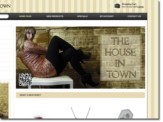 http://thehouseintown.co.uk website