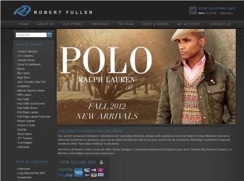 https://www.robert-fuller.co.uk/ website