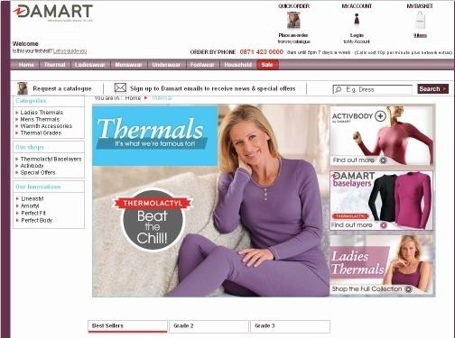https://www.damart.co.uk/thermals website