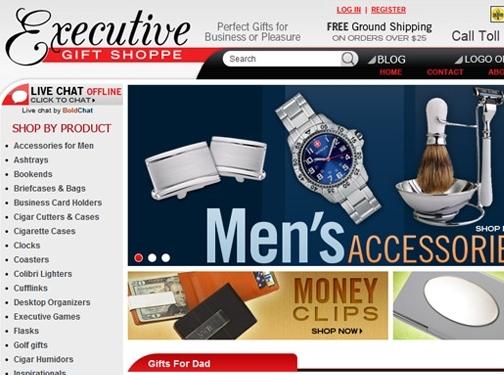 https://www.executivegiftshoppe.com/ website