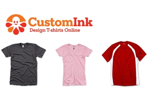 T shirts customink design your own t shirts for Create your own shirt website