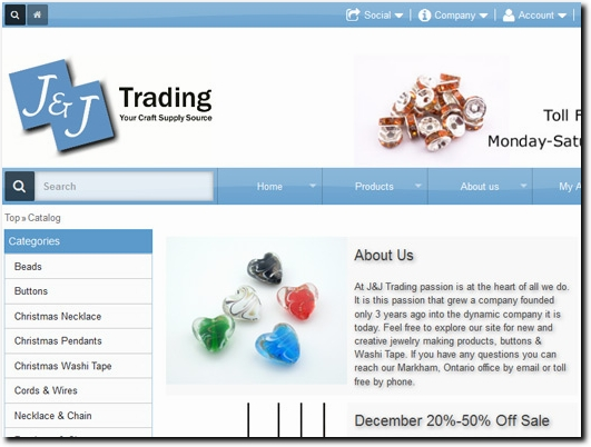 http://www.jjtrading.ca/shop/index.php website