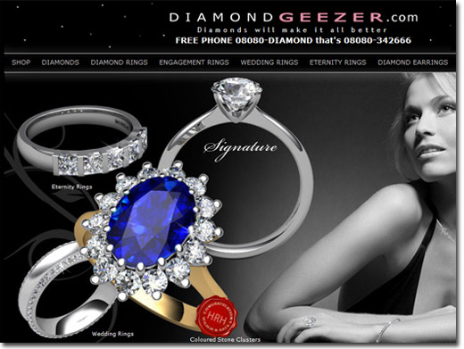 Wedding Rings from Diamond Geezer