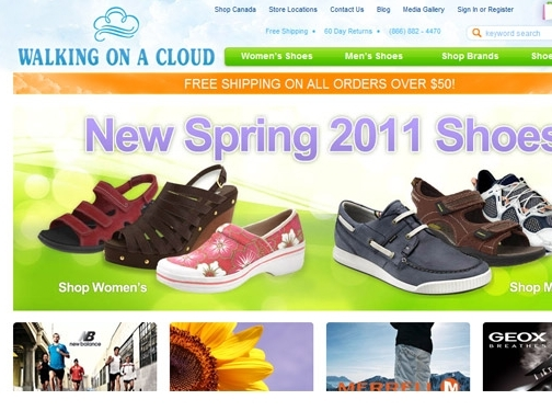 shoes walking on a cloud shoes