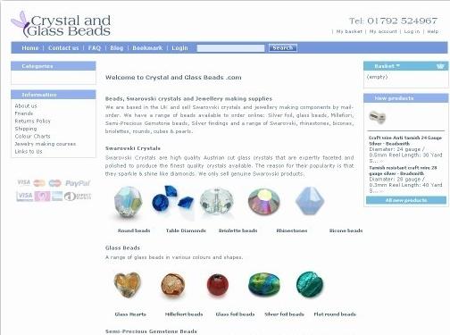 https://www.crystalandglassbeads.com website